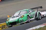 ST-Xクラスポールポジションは星野敏/荒聖治/近藤翼組(D\'station Porsche)