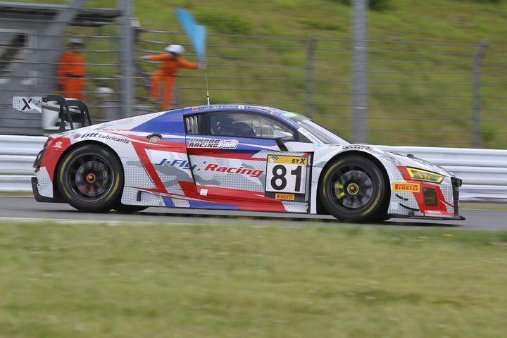 ウォームアップ: ST-XクラストップタイムはJ-Fly Racing R8