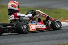 公式予選で3番手のタイムをマークした五十嵐文太郎(Super Racing Junkie!)