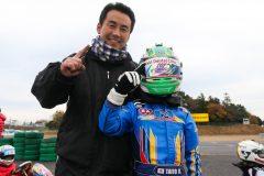 悲願のチャンピオンを獲得した加藤選手