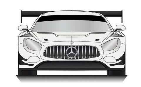 アルナージュレーシングがGT300クラスで2018シーズンを戦うメルセデスAMG GT3