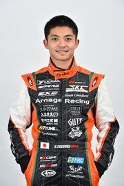 2018年アルナージュレーシングのドライバーに起用された安岡秀徒