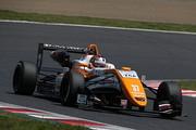 第1戦ポールポジション、第2戦予選2位の宮田莉朋(カローラ中京Kuo TOM'S F317)