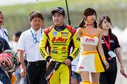 3位初表彰台の金丸悠(B-MAX RACING TEAM)