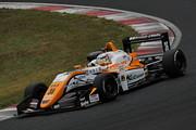第7戦予選2位、第8戦ポールポジションの坪井翔(カローラ中京Kuo TOM'S F317)