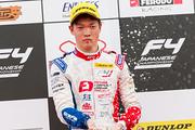 決勝2位の名取鉄平(Hondaフオ一ミュラ・ドリ一ム・プロジェクト)