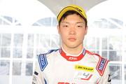 決勝3位の名取鉄平(Hondaフオ一ミュラ・ドリ一ム・プロジ工クト)