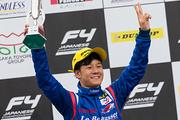決勝2位の川合孝汰(Le Beausset Motorsports)