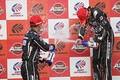 表彰式: GT300クラスのシャンパンファイト