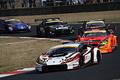 決勝レース: 序盤トップに立った平峰一貴(マネパ ランボルギーニ GT3)
