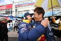 決勝レース: GT300クラスで優勝した中山友貴(TEAM UPGARAGE)