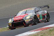 GT300クラス予選3位の平中克幸/安田裕信組(GAINER TANAX GT-R)
