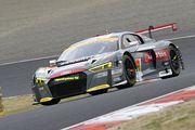 GT300クラス予選2位のリチャード・ライアン/富田竜一郎組(Hitotsuyama Audi R8 LMS)