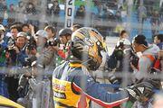GT300クラス優勝の小林崇志(TEAM UPGARAGE)
