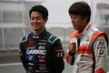山本尚貴(TEAM KUNIMITSU)と伊沢拓也(AUTOBACS RACING TEAM AGURI)