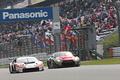 公式予選: マネパ ランボルギーニ GT3とGAINER TANAX GT-R