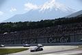 決勝レース: 昨日と打って変わって快晴の下、富士山も顔を出しレースは進行した