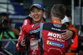 決勝レース: GT500クラスで優勝した松田次生とロニー・クインタレッリ(NISMO)
