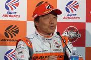 決勝記者会見: GT300クラス優勝の高木真一(AUTOBACS RACING TEAM AGURI)
