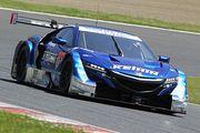 GT500クラス予選3位の塚越広大/小暮卓史組(KEIHIN NSX-GT)
