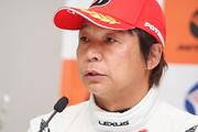 GT300クラスポールポジションの新田守男(K-tunes Racing LM corsa)