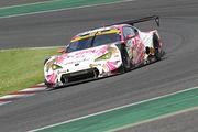 GT300クラス決勝2位は松井孝允/坪井翔組(HOPPY 86 MC)