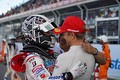 決勝レース: GT500クラスで優勝した小林可夢偉とヘイッキ・コバライネン(LEXUS TEAM SARD)