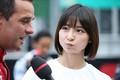 Audi e-tronデモラン: ブノア・トレルイエと篠田麻里子さん