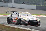 GT300クラス予選3位の星野一樹/吉田広樹組(GAINER TANAX triple a GT-R)