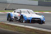 GT500クラス予選2位のジョアオ・パオロ・デ・オリベイラ/高星明誠組(フォーラムエンジニアリングADVAN GT-R)