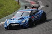 GT500クラスで終盤までトップを快走していた佐々木大樹/ヤン・マーデンボロー組(カルソニックIMPUL GT-R)はトラブルで後退