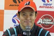 予選記者会見: GT500クラスポールポジションの山本尚貴(TEAM KUNIMITSU)