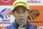 決勝記者会見: GT300クラス優勝の井口卓人(R&D SPORT)