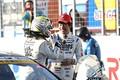 決勝レース: GT300クラスで優勝した新田守男と中山雄一(K-tunes Racing LM corsa)