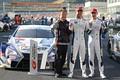 決勝レース: GT500クラスで優勝した関屋正徳監督、平川亮、ニック・キャシディ(LEXUS TEAM KeePer TOM'S)