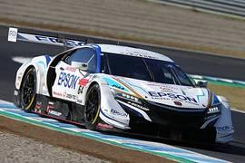 公式練習: GT500クラストップタイムのベルトラン・バゲット/松浦孝亮組(Epson Modulo NSX-GT)