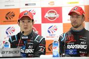 チャンピオン記者会見: GT500クラスチャンピオンの山本尚貴とジェンソン・バトン(TEAM KUNIMITSU)