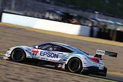 GT500クラス予選3位のベルトラン・バゲット/松浦孝亮組(Epson Modulo NSX-GT)