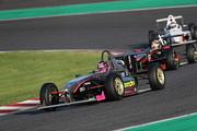 レース序盤の吉田宜弘を先頭とする3位争い