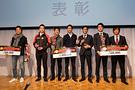 2017年シリーズ表彰: ST-4クラスの表彰式