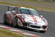 フリー走行: ST-1クラストップタイムのJACK/影山正美/富田竜一郎組(Nissoku Porsche 991GT3 Cup)