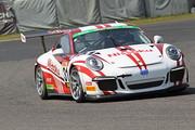 ST-1クラスポールポジションはJACK/影山正美/富田竜一郎組(Nissoku Porsche 991GT3 Cup)