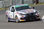 ST-3クラスポールポジションは堀田誠/阪口良平組(muta Racing ADVICS IS 350 TWS)