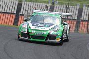 ST-1クラスポールポジションのJACK/影山正美/富田竜一郎組(Nissoku Porsche 991GT3 Cup)