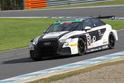 ST-TCRクラスポールポジションの今村大輔/加藤正将/石澤浩紀組(L&JR Mars Audi RS3 LMS)