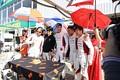 ピットウォーク: 小林崇志選手(DOME RACING)の誕生パーティー