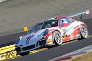 ST-1クラスポールポジションはT.スターク/影山正美/富田竜一郎組(Porsche 991GT3 Cup)