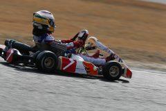 予選ヒートの接戦を制し決勝ポールポジションを獲得、菊池貴博選手