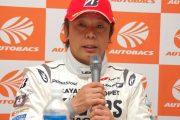 決勝記者会見: GT300クラス優勝の新田守男(K-tunes Racing)