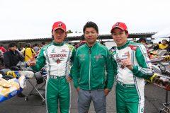 ワンツーフィニッシュを飾ったTONYKART RACING TEAM JAPAN